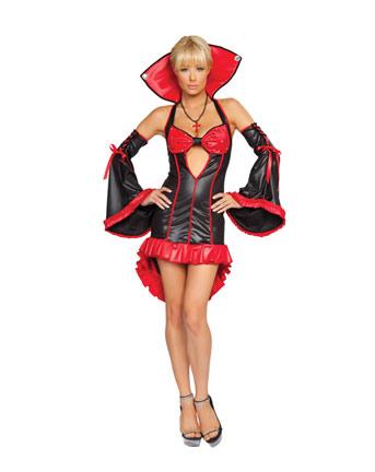 Vestiti Eleganti Halloween.Halloween Costume Per Donna Da Vampira Elegante