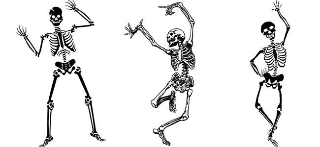 Gli scheletri danzano su quello che non c'� pi�