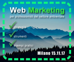 Corso web marketing ambientale Milano 2017