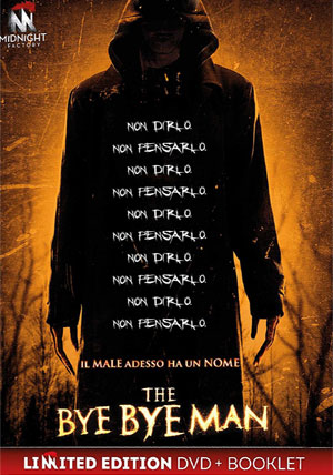 La copertina del DVD di The Bye Bye Man