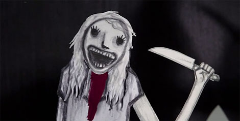 Un fotogramma del film The Babadook