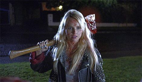 Un fotogramma del film horror Deathgasm (2015)