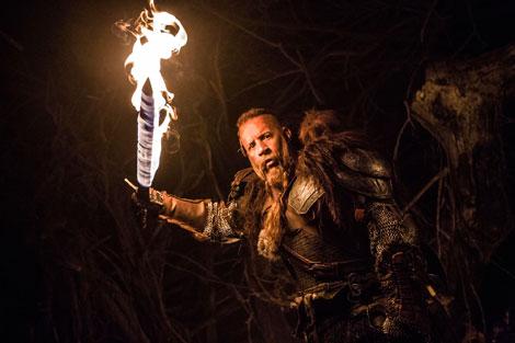 Un fotogramma del film horror The Last Witch Hunter: L'ultimo Cacciatore di Streghe