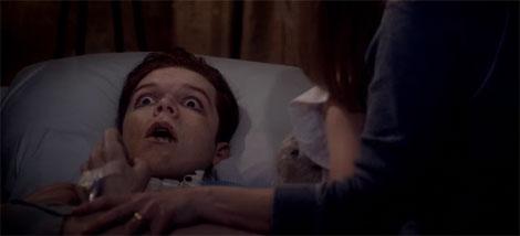 Un fotogramma del film horror Amityville: The Awakening