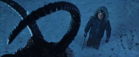 Un fotogramma del film horror Krampus (2015)
