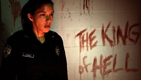 Un fotogramma del film horror Last Shift (2015)