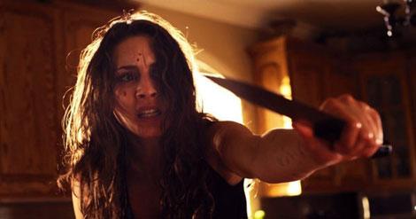 Un fotogramma del film horror Martyrs (2015)