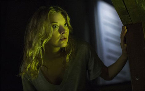 L'attrice Natalie Dormer in un fotogramma del film The Forest