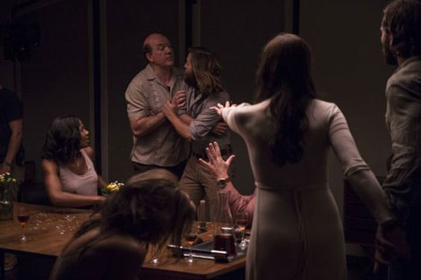 Un fotogramma del film horror The Invitation (2016)