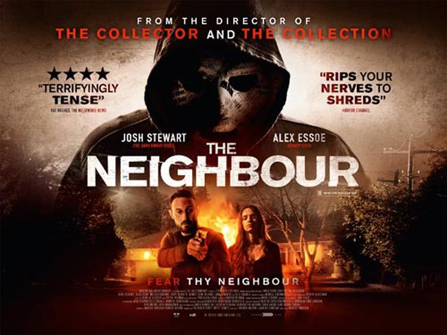 La locadina inglese della pellicola horror The Neighbor