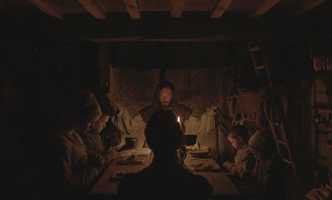 Un fotogramma del film horror The Witch (La Strega)