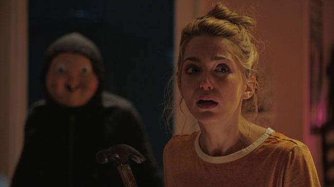 Un fotogramma del film horror Happy Death Day