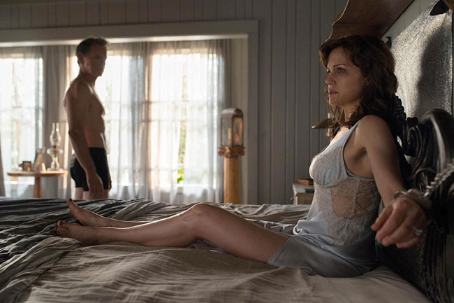 Un fotogramma del film horror Gerald's Game
