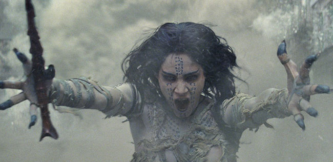 Un fotogramma del film horror The Mummy: La Mummia