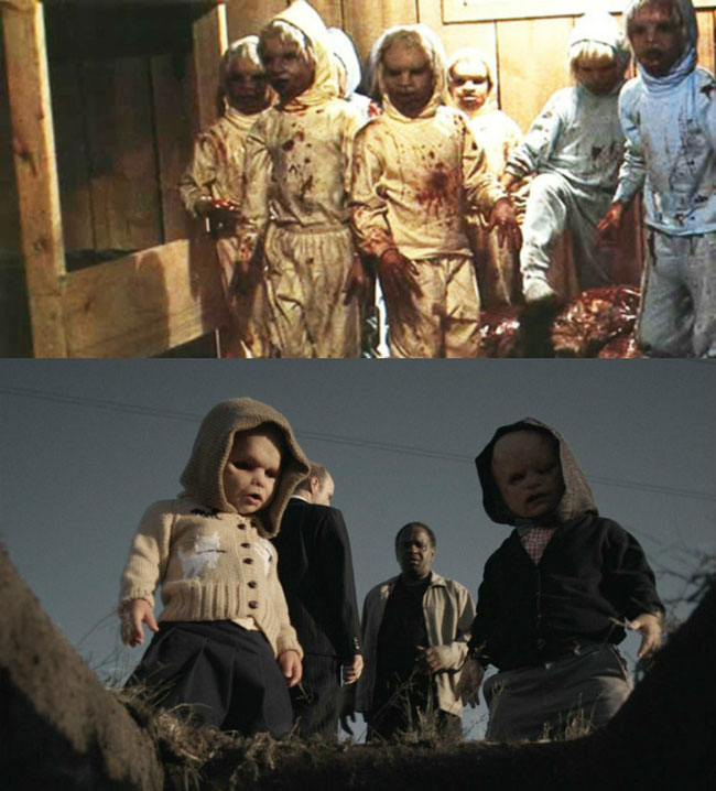 Un confronto tra il film The Brood: La covata malefica e Butcher's Block