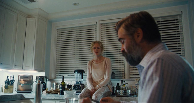Un fotogramma del film The Killing of a Sacred Deer