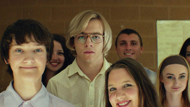 Un fotogramma del film My Friend Dahmer