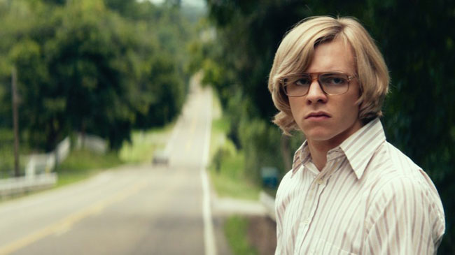 Un fotogramma del film serial killer My Friend Dahmer