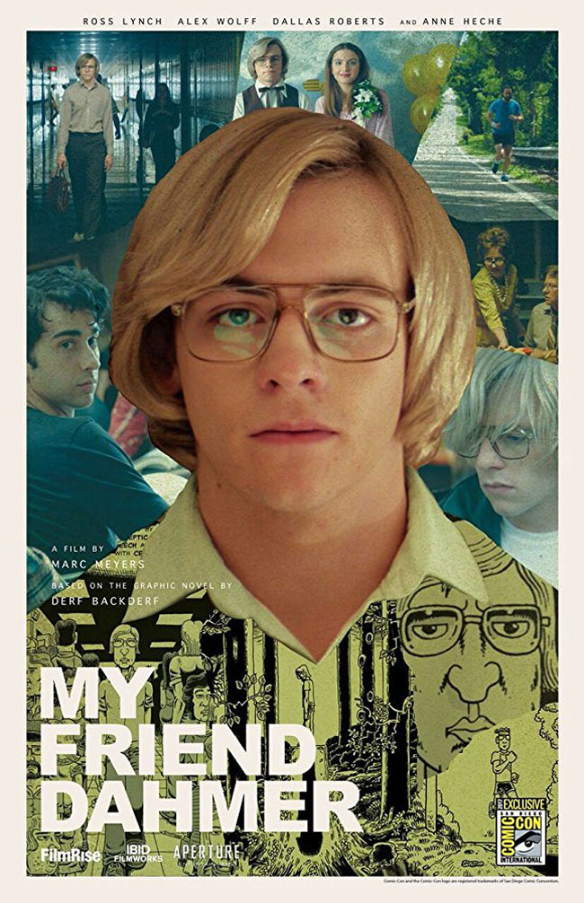 Un poster alternativo del film My Friend Dahmer