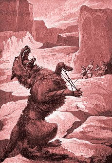 Fenrir, l'enorme lupo del Vön