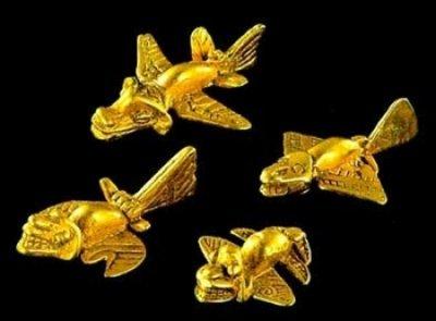 I Monili d'oro dei Sinù, aerei nella Colombia antica?