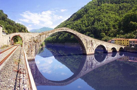 Il ponte del diavolo for Foto di ponti su case