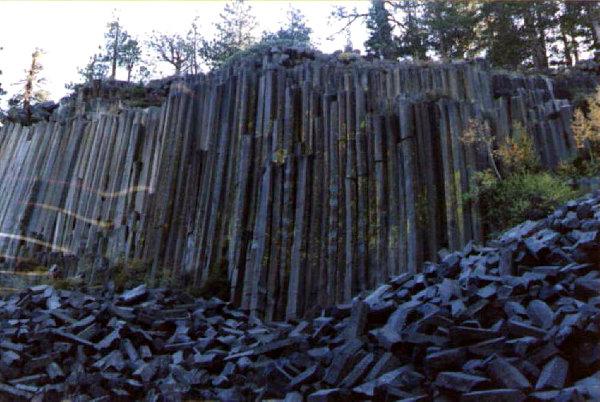I tubi di ferro sul monte Baigong