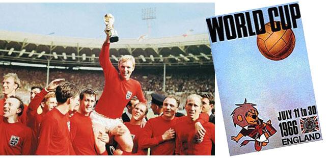 L'Inghilterra vince il campionato del mondo di calcio del 1966