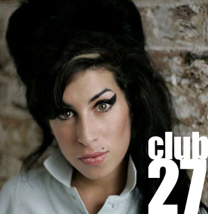 Amy Winehouse e il Club 27