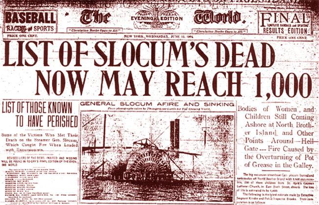 I giornali con la cronaca dell'accaduto