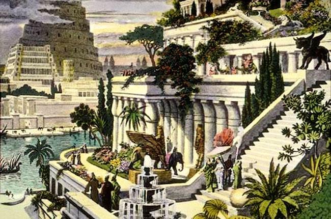 I Giardini Pensili e la Torre di Babele