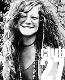 Janis Joplin e il Club 27