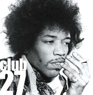 Jimi Hendrix e il Club 27
