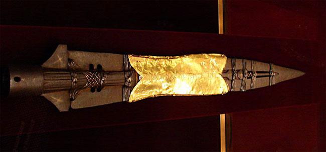 La lancia sacra all'Hofburg di Vienna