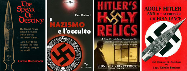 I libri sulla Lancia del Destino e il Nazismo Occulto