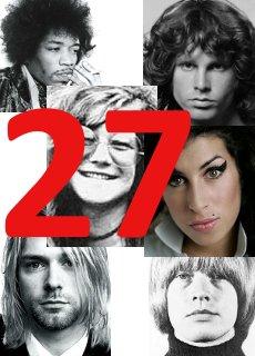La maledizione dei musicisti di 27 anni: il Club 27 e il Club J