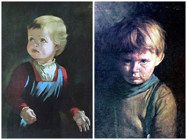 Très Quadri maledetti: I bambini che piangono GD43