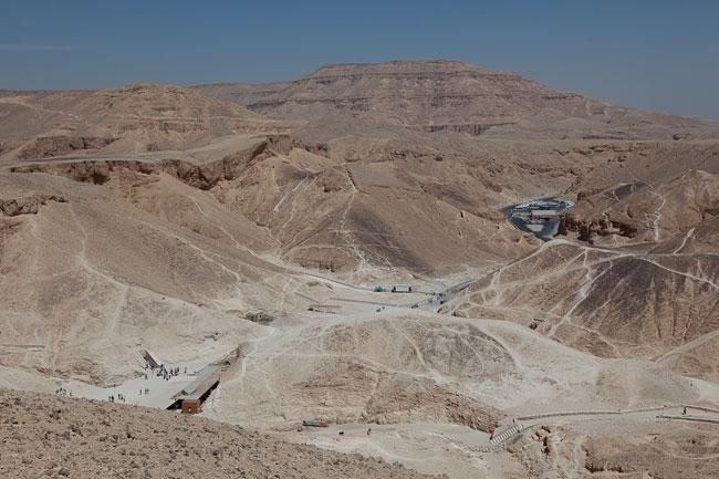 La Valle dei re in Egitto