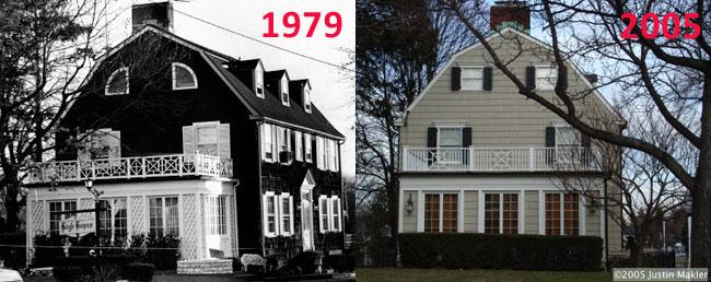 La casa maledetta, com'era e com'è