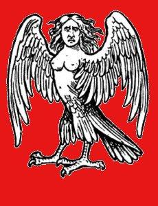 Arpie, creature metà uccello metà donna