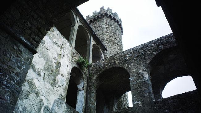 Una foto dell'interno del Castello dei Malaspina
