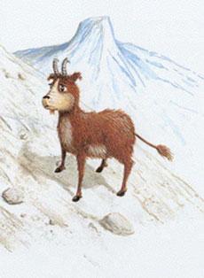 Dahu, il quadrupede di montagna