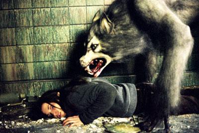 Il lupo mannaro del film horror Ginger Snaps