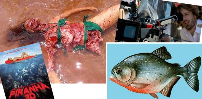 Effetti speciali sul set del film Piranha 3D