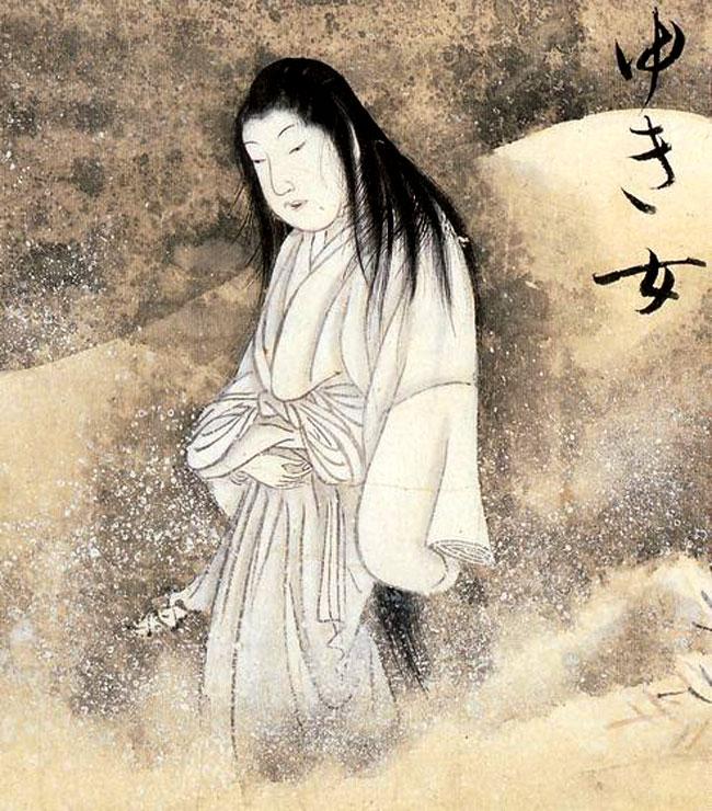 Immagine antica di un Yurei
