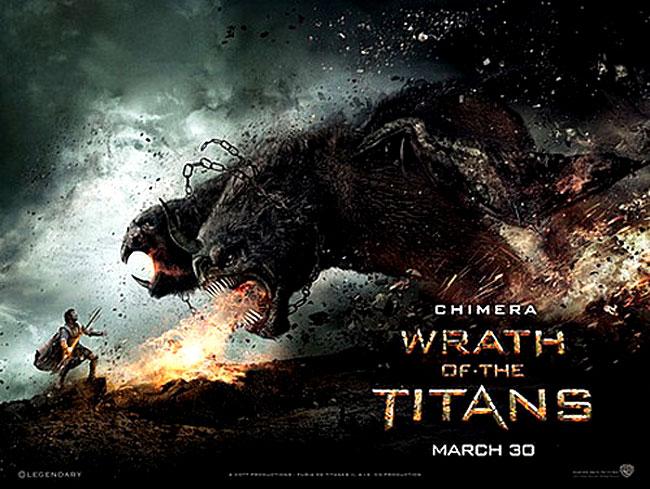 La Chimera nel film La Furia dei Titani
