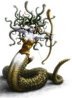 Medusa, la più famosa delle Gorgoni