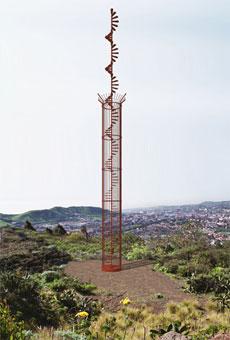 Il monumento commemorativo eretto il 27 marzo 2007