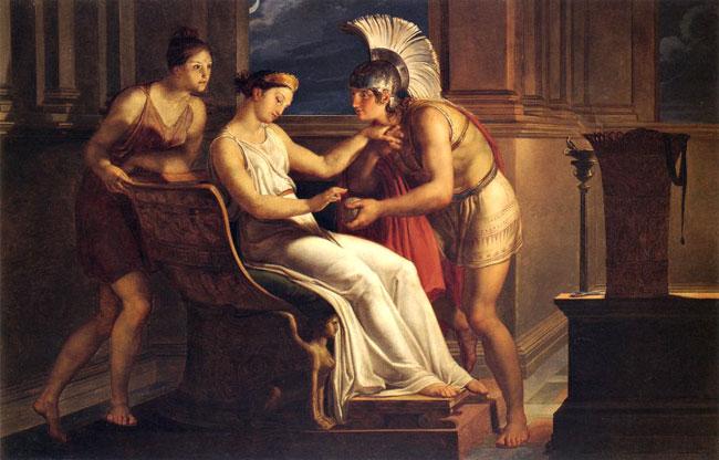 Teseo, Arianna e il rotolo di filo per uscire dal labirinto