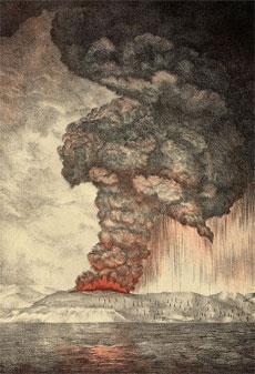 Grandi disastri: L'Eruzione del Vulcano Krakatoa del 27 agosto 1883